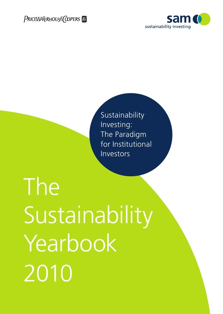 Sustainability yearbook 2010