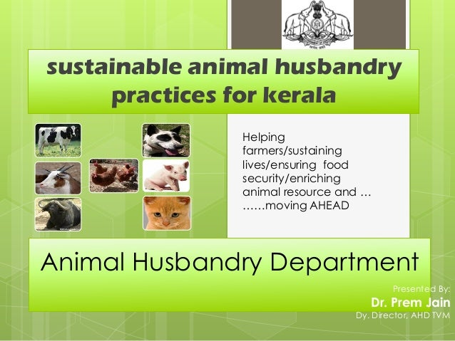 sustainable animal husbandry     practices for kerala               Helping               farmers/sustaining              ...
