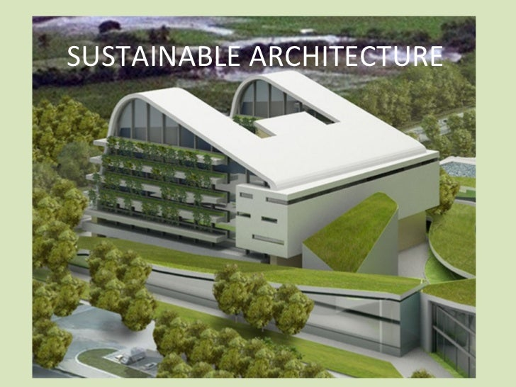Thesis topics in sustainable architecture