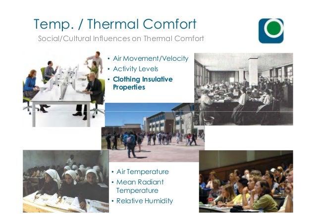 Advanced thermal comfort studies