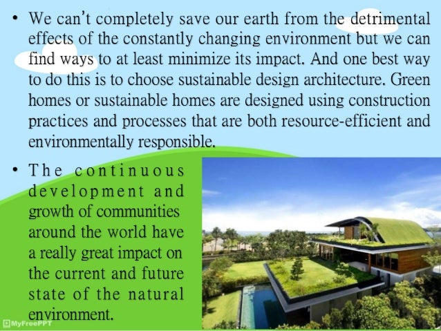 Sustainable Design Architecture And The Current Home Design Trends CSV CSV;  2.
