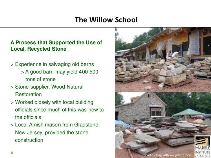Amish Stone Masons : Sustainable design case study