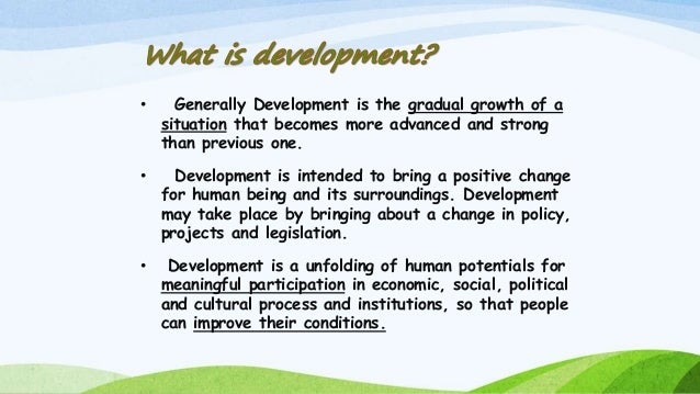 Make a project file on sustainable development