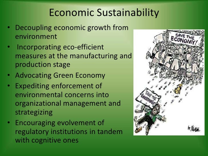 Can sustainable development co-exist with current economic growth?