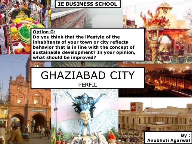 Presentation Title Subheading goes here GHAZIABAD CITY PERFIL Option G: Do you think that the lifestyle of the inhabitants...