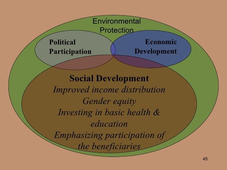 economic and social development sustainable development pdf