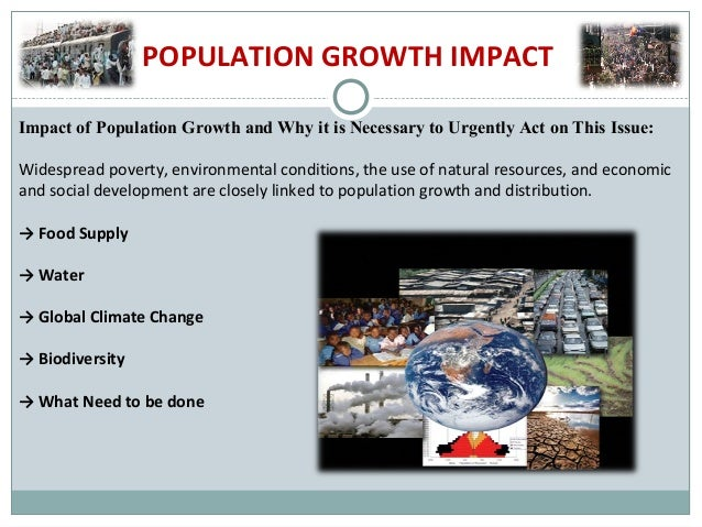 Effect of Growing Population