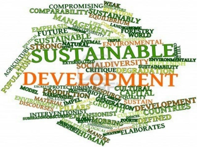 SUBSTAINABLE DEVELOPMENT GOALS 2016 to 2030 Billion to Trillion