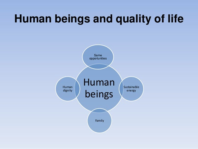 Sustainable development, human dignity and family Slide 2