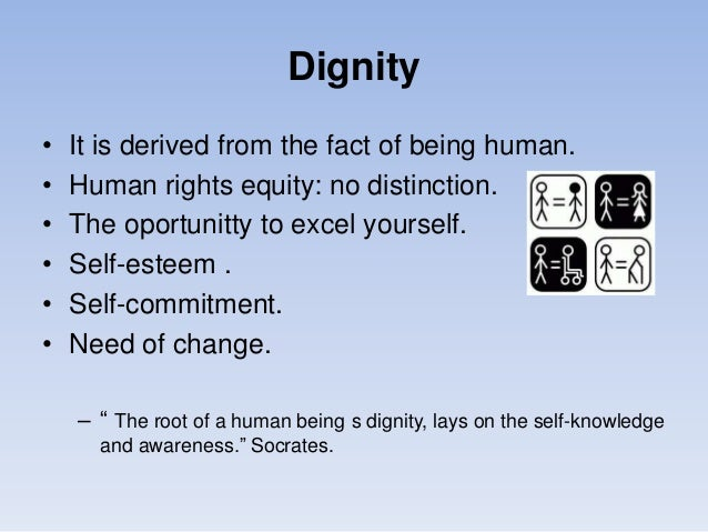 Sustainable development, human dignity and family Slide 3