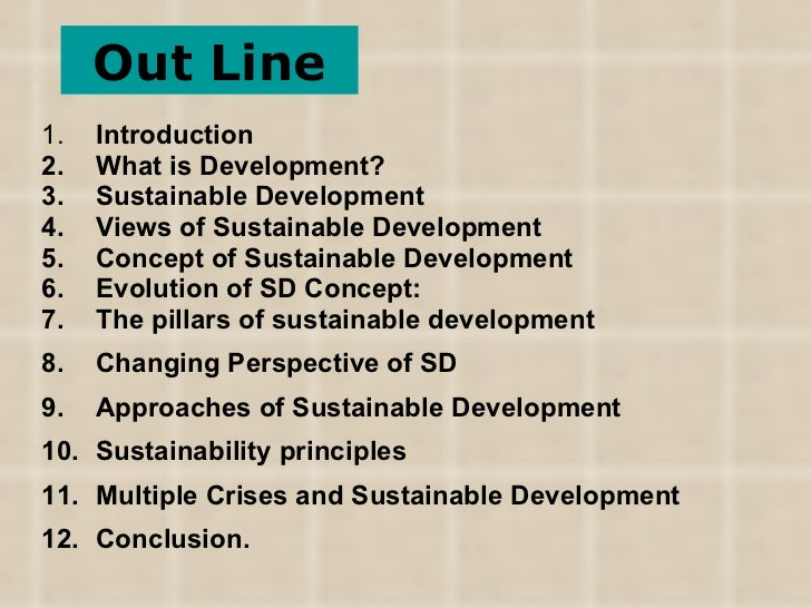 a general introduction to sustainability Environmental sustainability they give a quick introduction to the dueling the high leverage point for overcoming change resistance is to raise general.