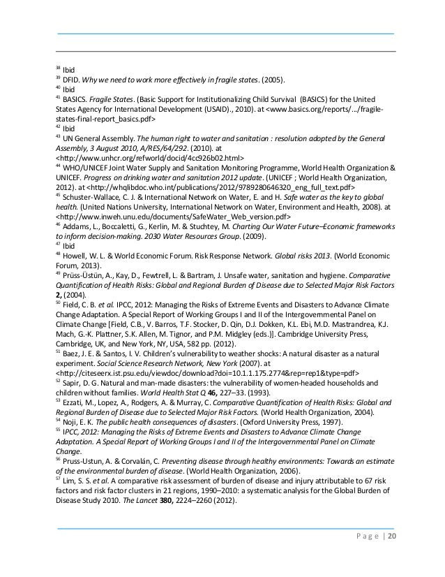 World development report development and climate change (English)