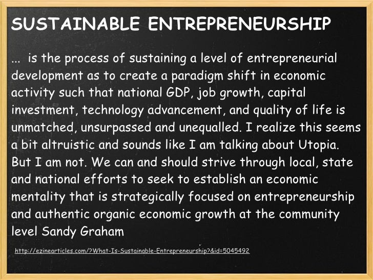 sustainable entrepreneurship The latest news, videos, and discussion topics on sustainability.