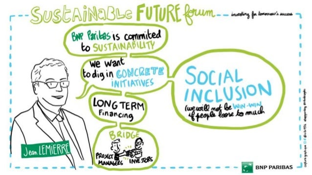 (SCRIBING) Sustainable Forum 2017 - BNP PARIBAS