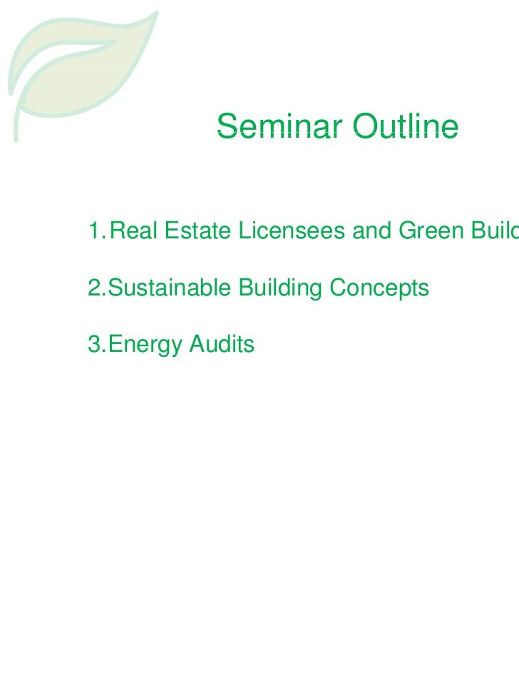 Sustainable housing and building green rcbor presentation 5 10-11 Slide 2