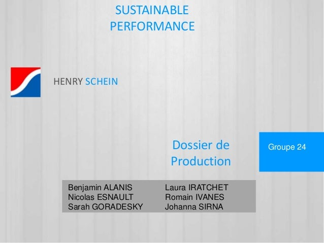 Dossier de  Production  Benjamin ALANIS Laura IRATCHET  Nicolas ESNAULT Romain IVANES  Sarah GORADESKY Johanna SIRNA  Grou...