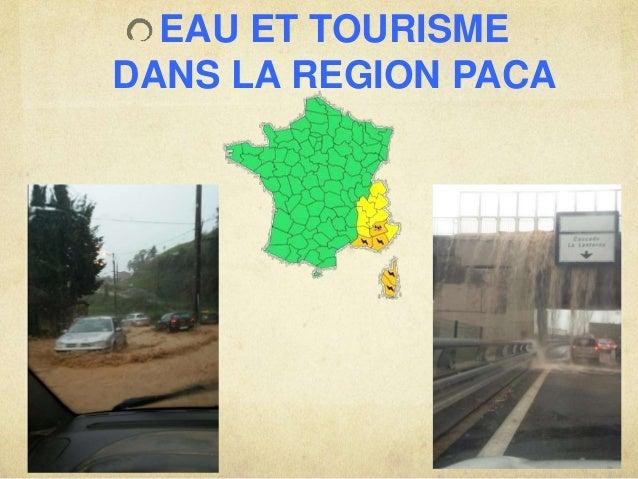 EAU ET TOURISME  DANS LA REGION PACA
