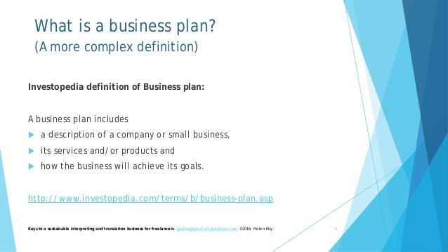 translation business plan
