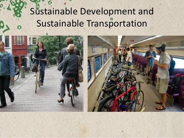 Sustainable transport - will it ever really count? Slide 2