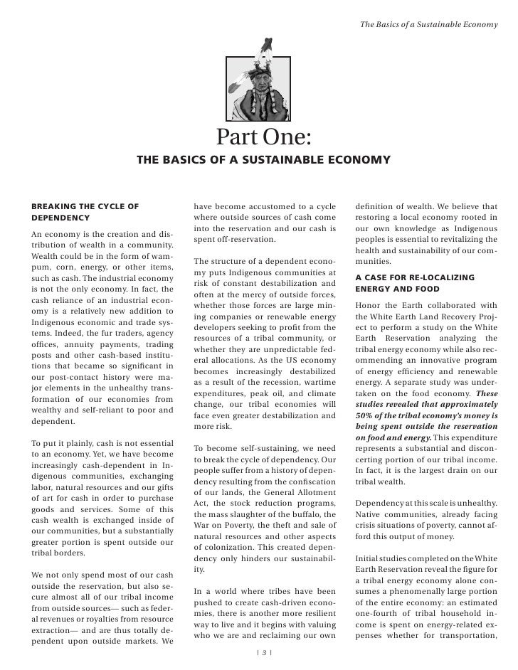 Sustainable Tribal Economies A Guide To Energy And Food