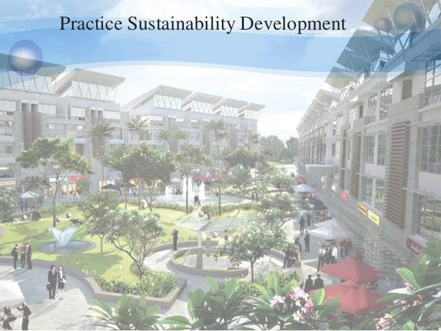 Practice Sustainability Development