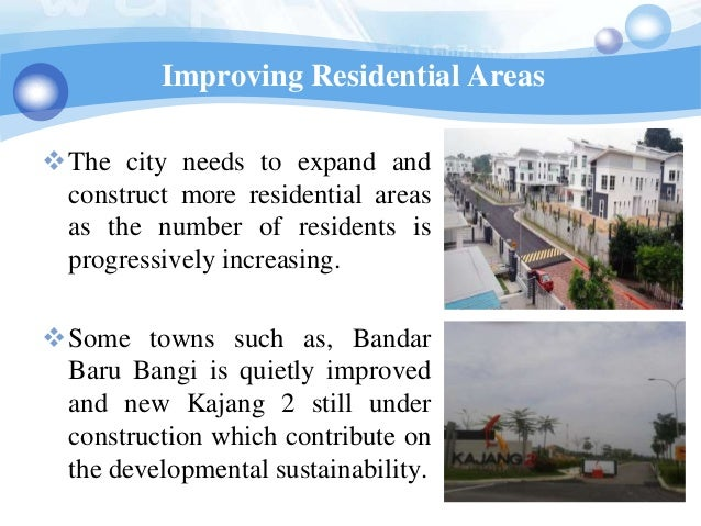 Improving Residential AreasThe city needs to expand and construct more residential areas as the number of residents is pr...