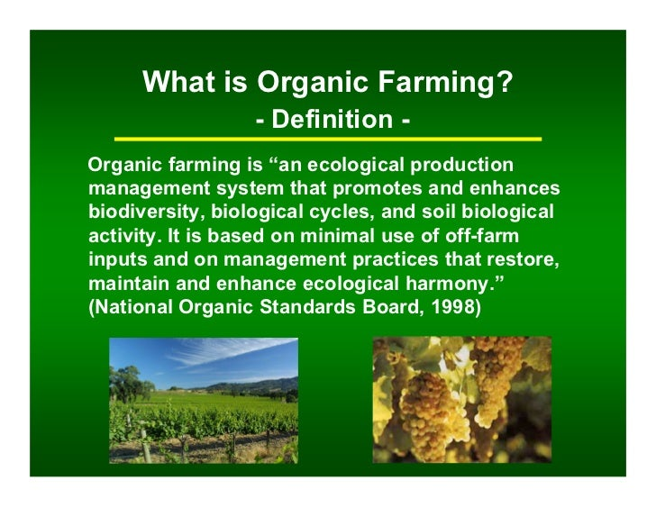 Sustainable wine practices from leaders in mendocino for Organic soil definition