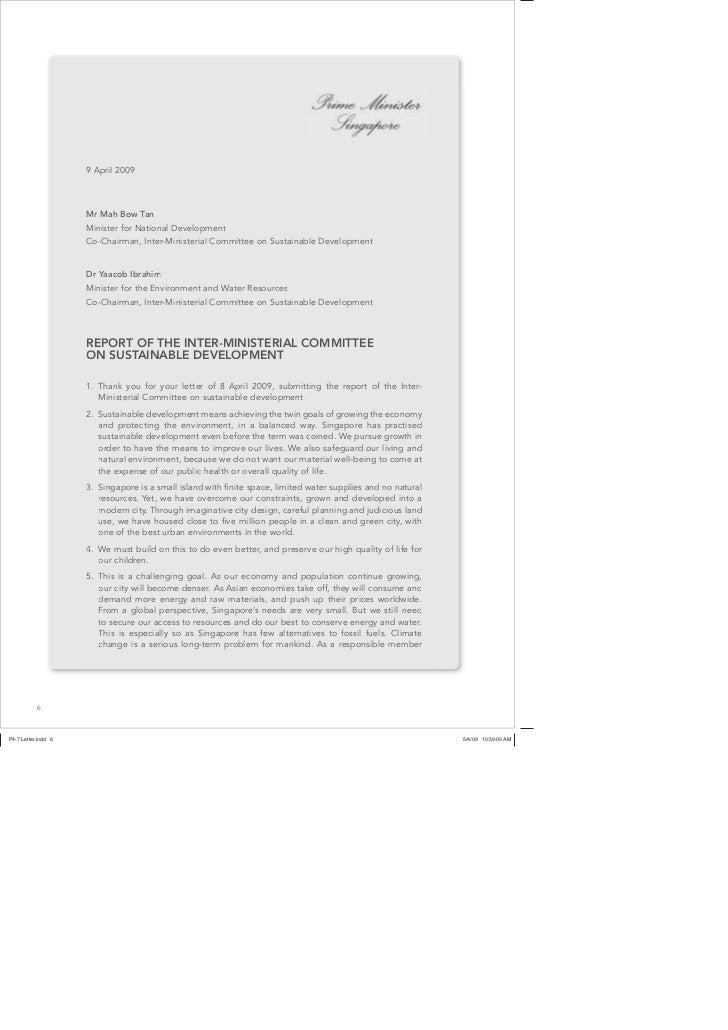 Sustainble development blueprint singapore as a responsible member6 8 of malvernweather Choice Image