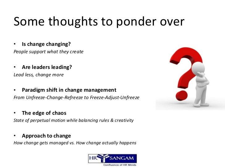 Sustaining Change Leadership That Works