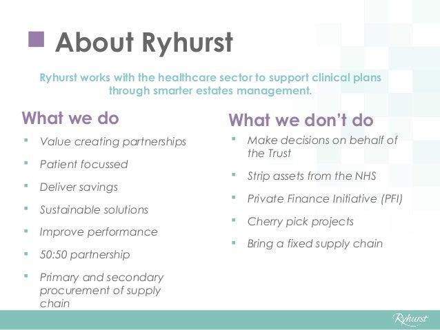 Sustaining Modern NHS Estates Through Partnership Slide 3