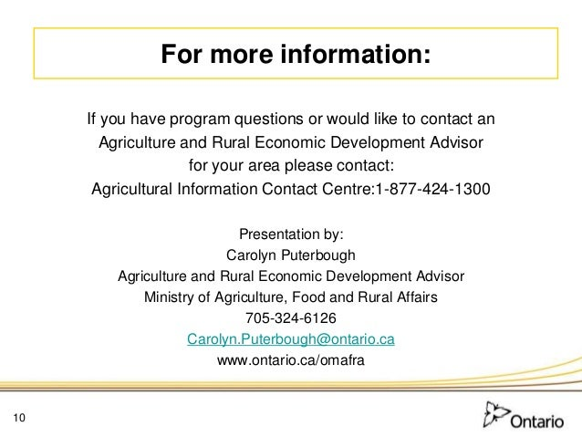 What makes a good funding application omafra for Usda rural development arkansas