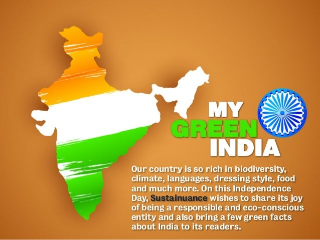 Our country is so rich in biodiversity, climate, languages, dressing style, food and much more. On this Independence Day, ...