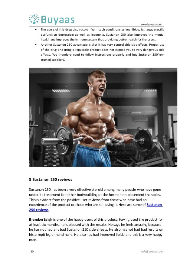 Sustanon 250 uses, cycle, dosage, benefits, reviews