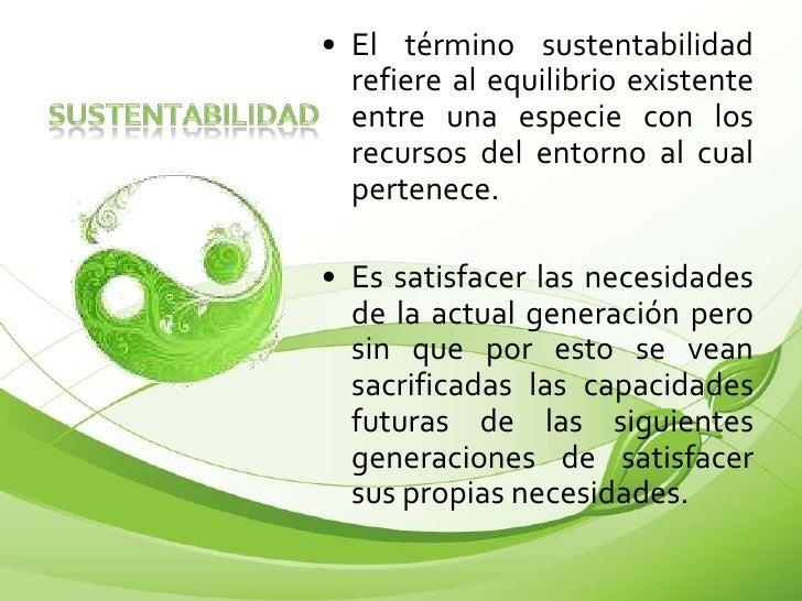 Sustentabilidad y arquitectura sustentable for Cual es el significado de arquitectura