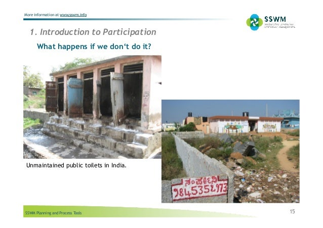 SSWM Planning and Process Tools More information at www.sswm.info What happens if we don't do it? 15 1. Introduction to Pa...