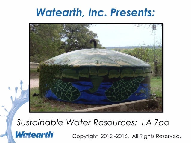 Watearth Sustainable Water Resources
