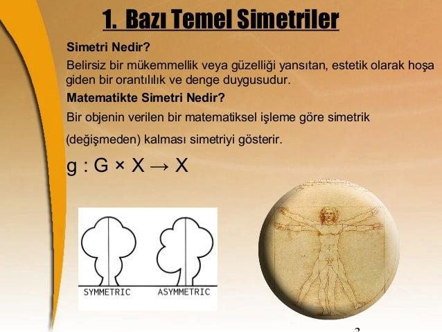 Merkezi simetri nedir