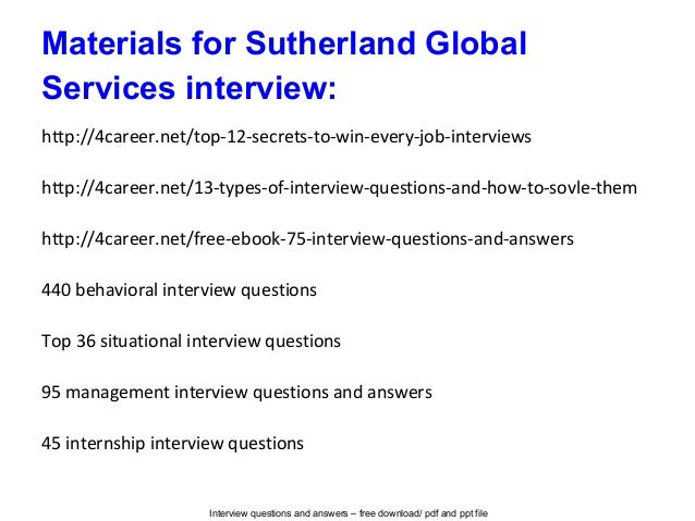 interview questions and answers - Interview Question And Answers