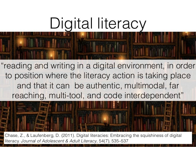 transliteracy is not about learning text literacy and visual literacy and digital literacy in isolation from one another b...