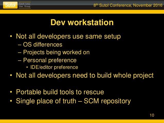 Developers All Use Same Js Build