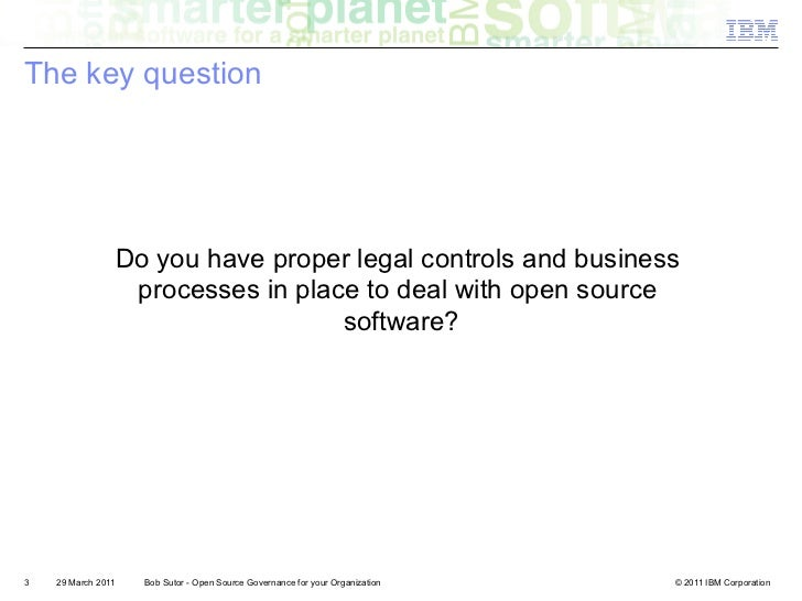Open Source Governance for your Organization Slide 3