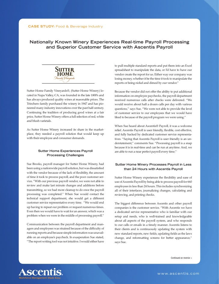 Case Study Analysis: The California Sutter Health Approach Essay