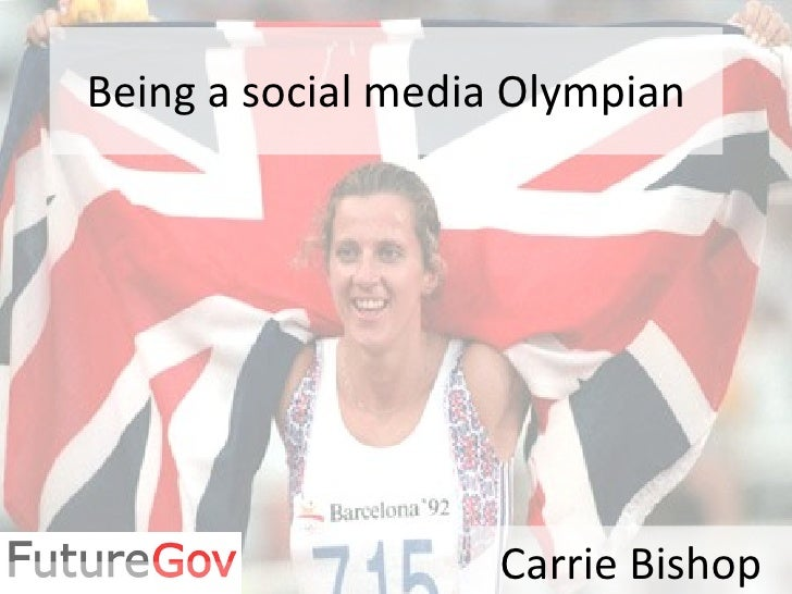 Being a social media Olympian Carrie Bishop