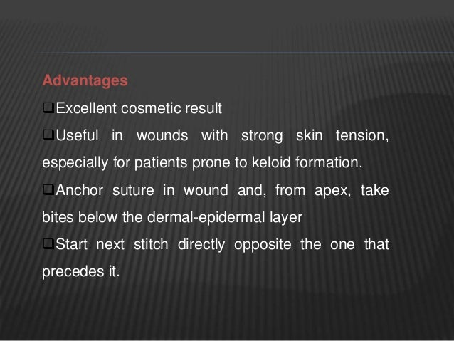 HOW TO REMOVE SUTURE  Suture area is first cleaned with normal saline.  The suture is grasped with non-tooth dissecting ...