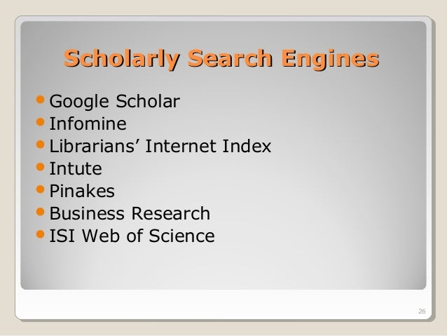scholarly essay search engine If you don't find what you are looking for by using one search engine, switch to this scholarly practice allows your reader to follow finding sources.
