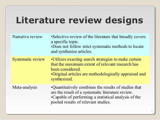 Do review literature thesis