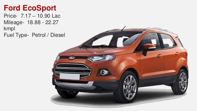 Find Top Suv Cars India