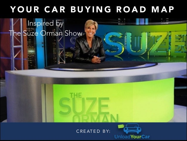 Suze Orman On Buying A Car
