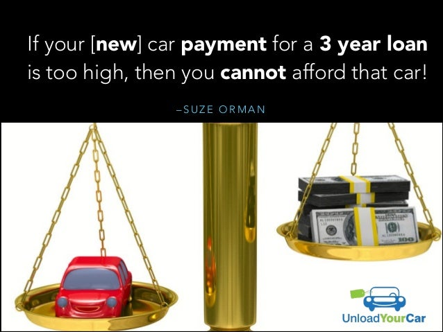 Suze Orman Rules Of The Road For Car Buying