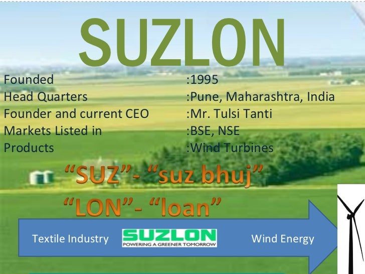 the suzlon energy Suzlon energy is probably one of the stocks in indian share market which has got  the attention of all kind of traders and investors over time.